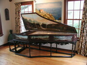 Flemish Double Harpsichord after Ruckers 1620