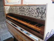Flemish Harpsichord after Couchet with Grecian decor