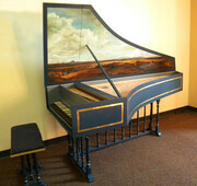 Flemish Harpsichord after Iohannes Couchet 1680