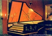 French Harpsichord after Henri Hemsch with Chinoiseire