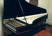 Harpsichord after Dulcken 1745