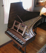 Harpsichord in the Italian style after Perticis in Black Walnut