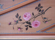 French Soundboard Painting Detail