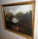 "Painting copy  ""The Garden of Villa d'Este"" also called ""The Little Park"" after the original by Jean-Honore Fragonard."